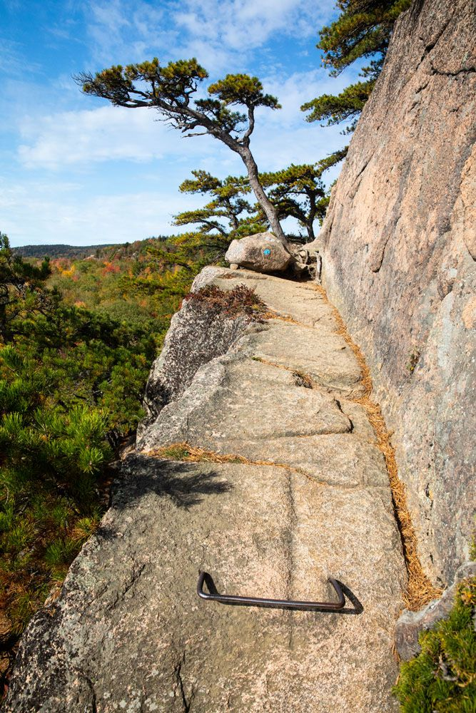 Beehive Trail Cliff