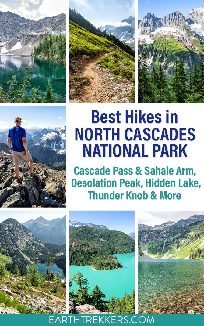 Best Hikes in North Cascades National Park Washington