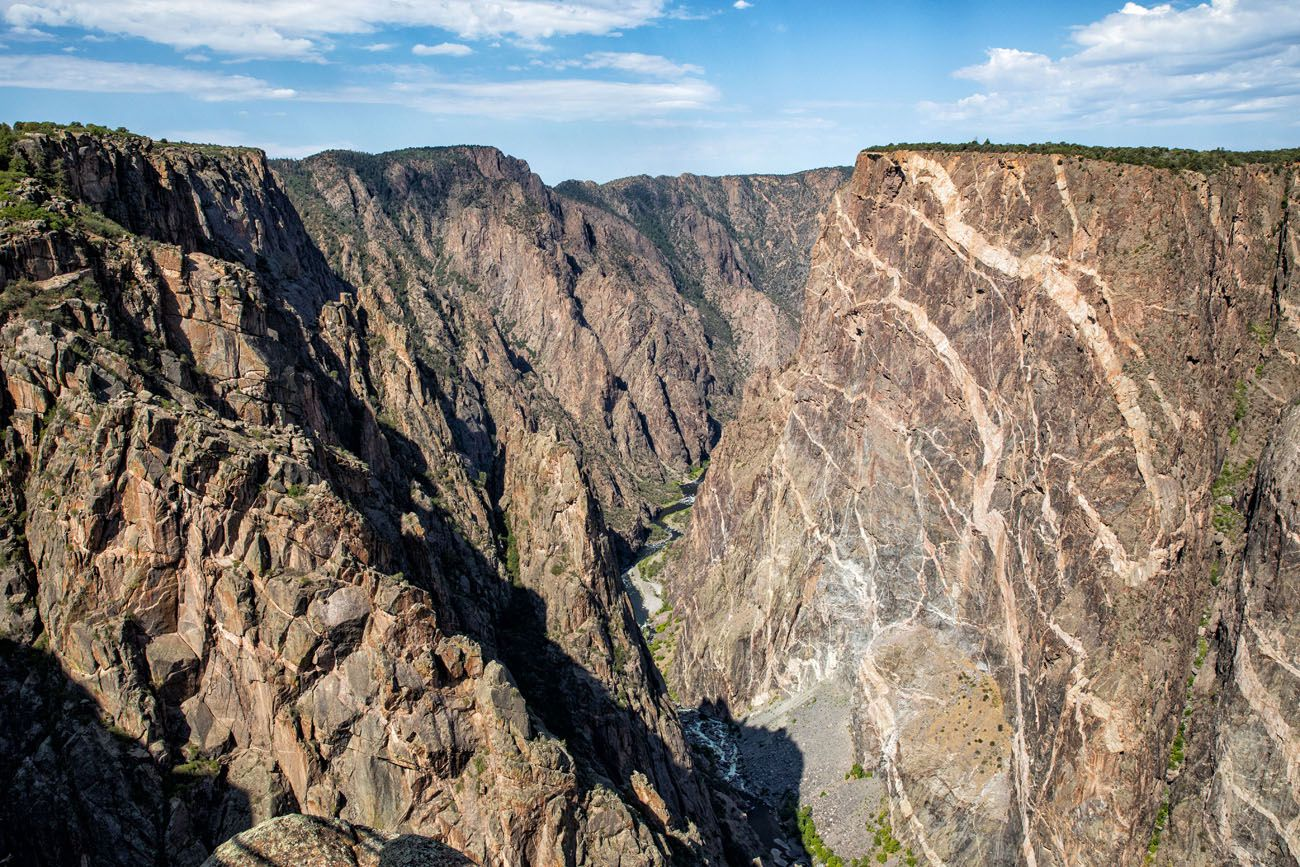 Best Views of Black Canyon of the Gunnison