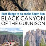 Black Canyon Gunnison Things to Do