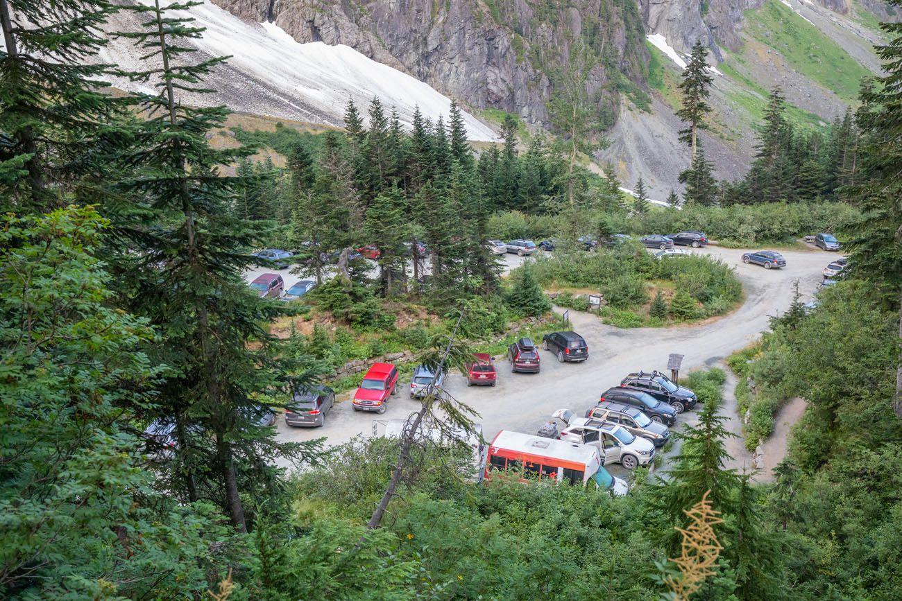 Cascade River Road Parking Lot