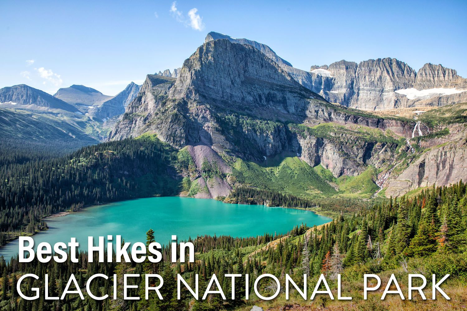 Hikes in Glacier NP