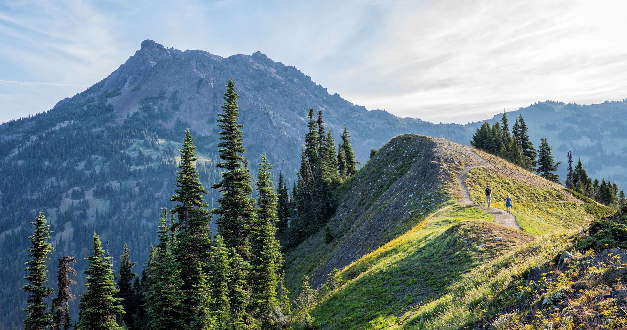 Hike Mt Angeles in Olympic NP