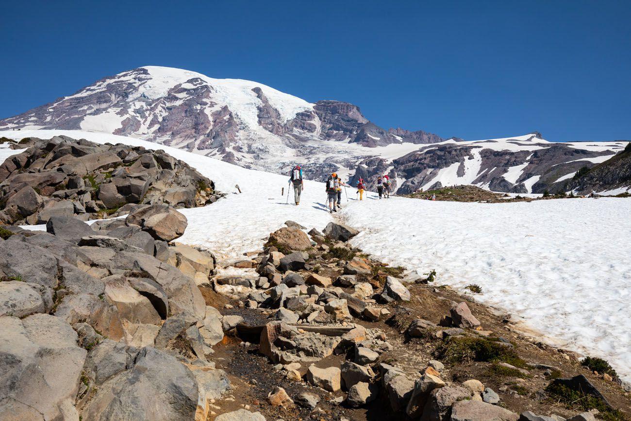Hike Mt Rainier