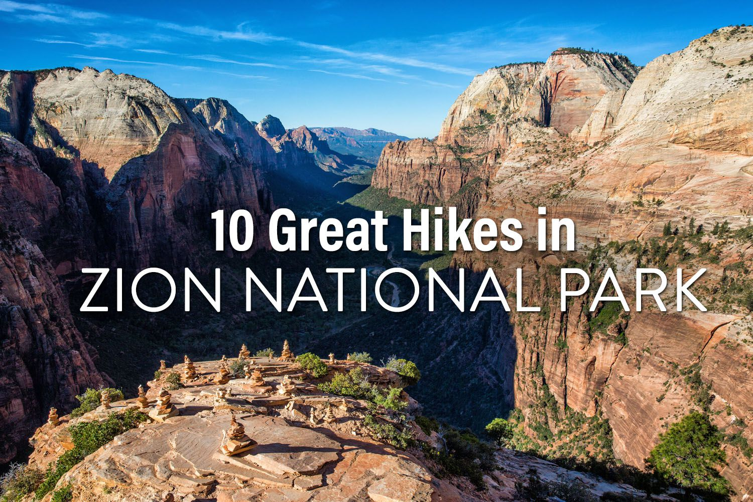 Hikes in Zion