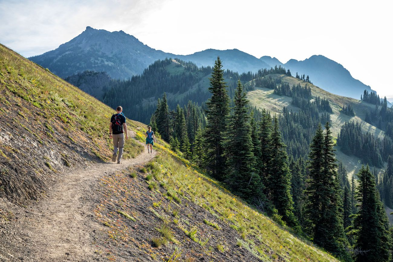 Hiking to Mount Angeles Olympic