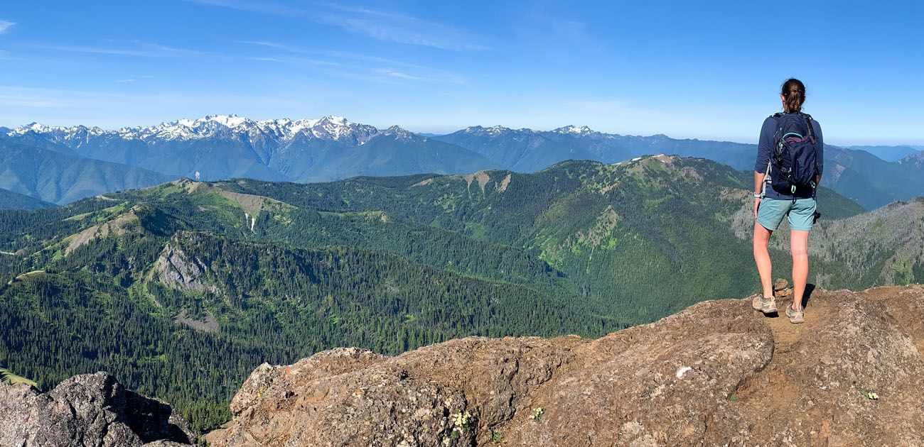 How to Hike to Mount Angeles