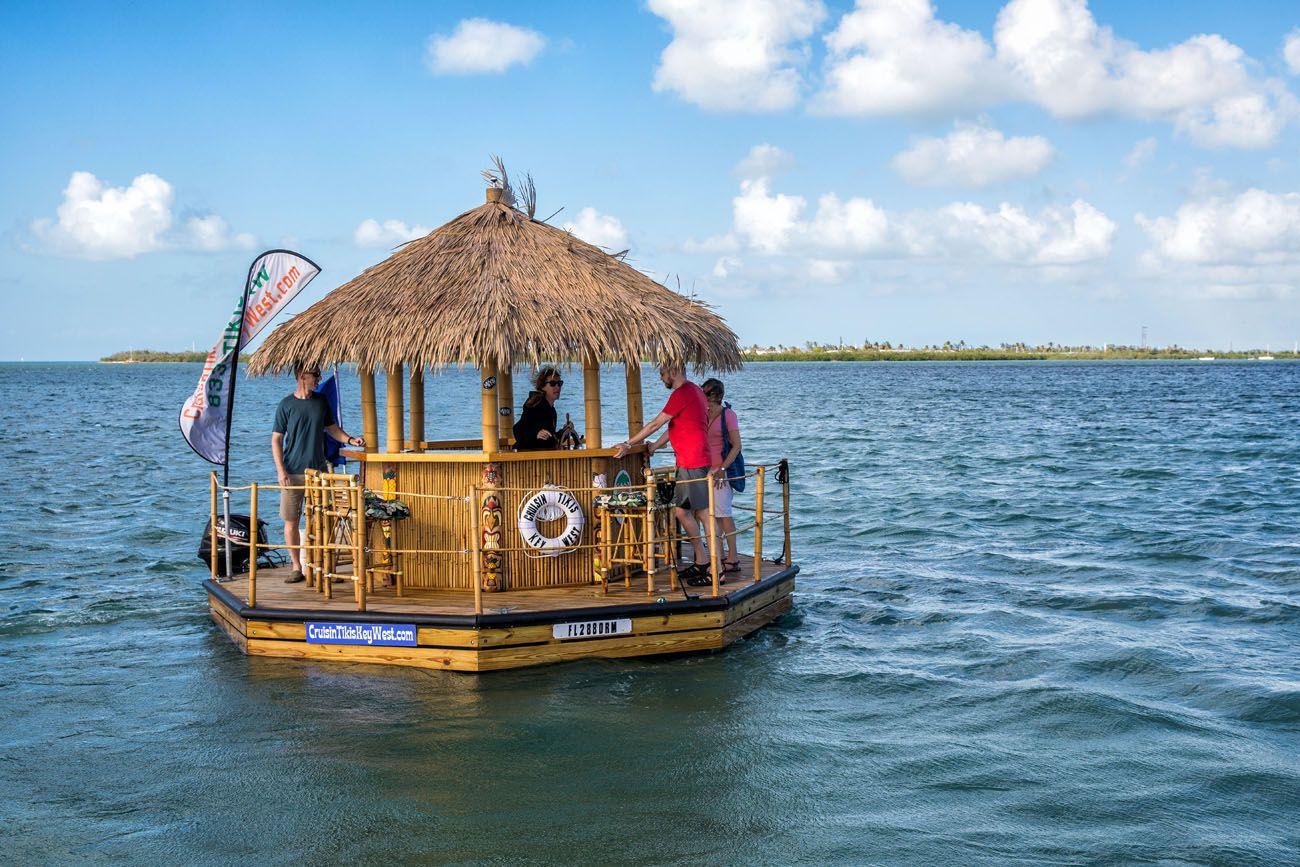 Key West Tiki Boat