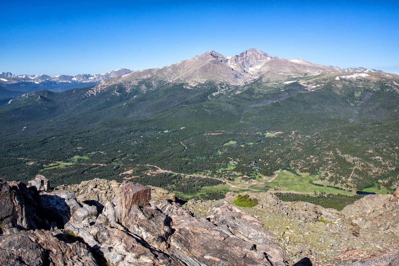Longs Peak from Twin Sisters
