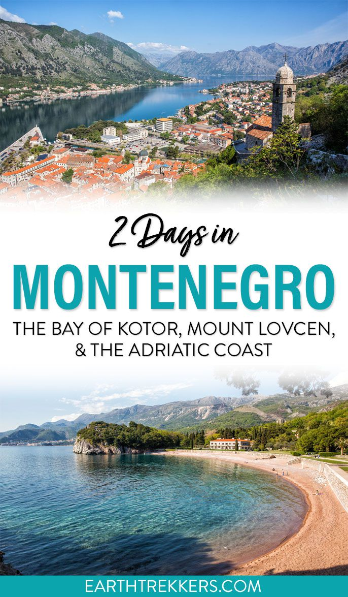 Montenegro 2 Day Itinerary