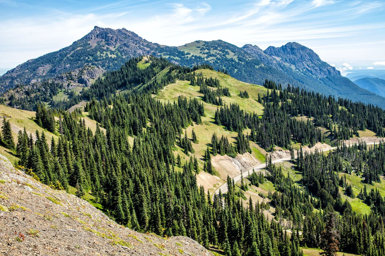 Mt Angeles Olympic NP