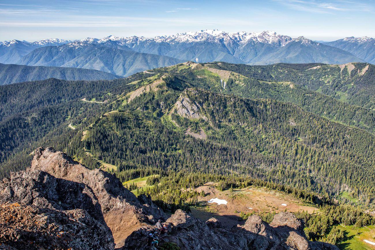 Mount Angeles View