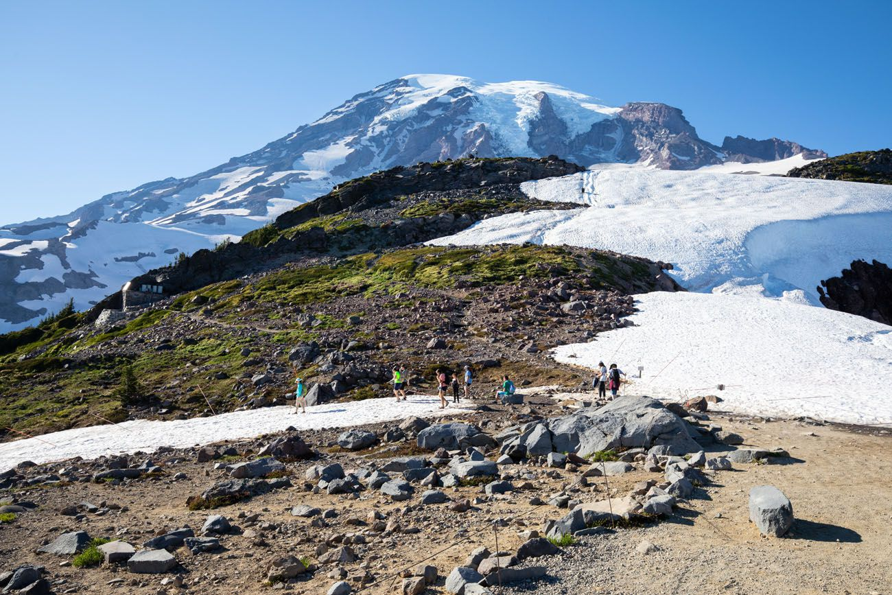 Mt Rainier from Panorama Point