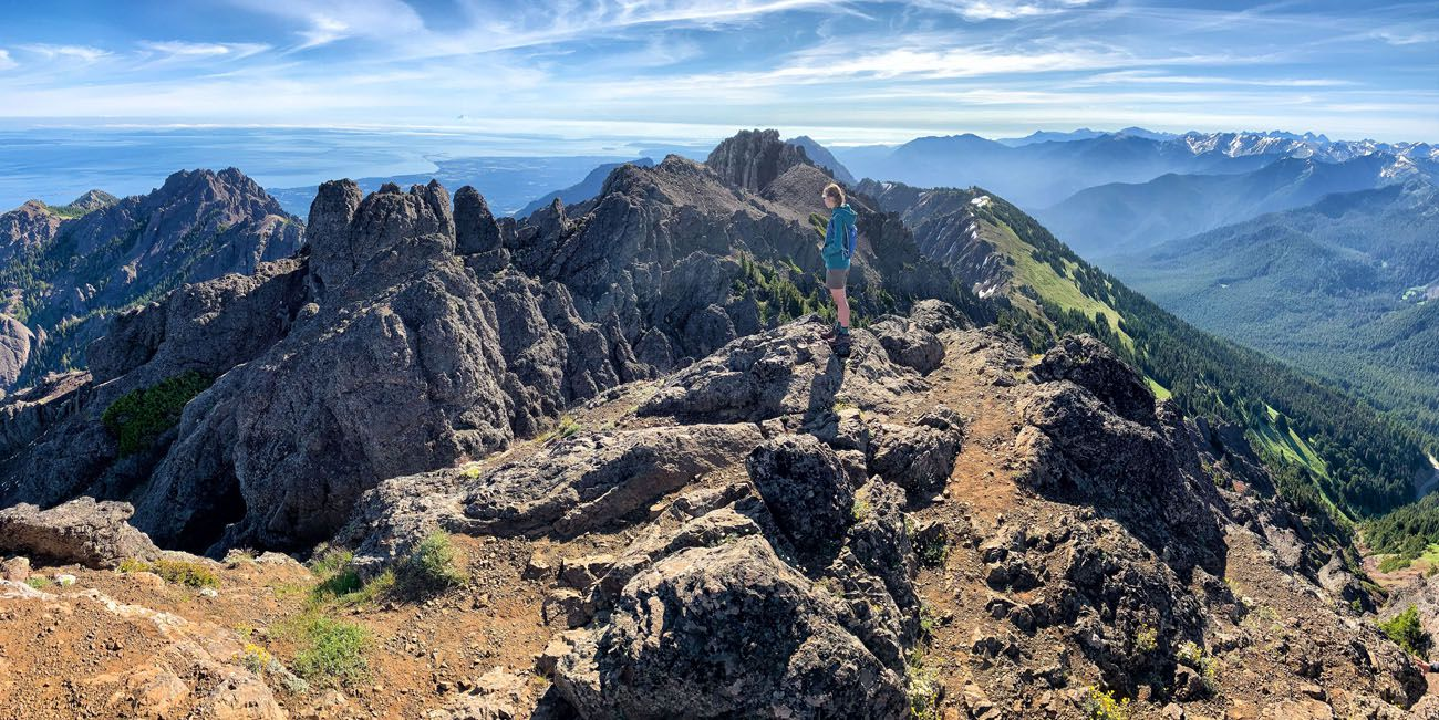 On Top of Mt Angeles