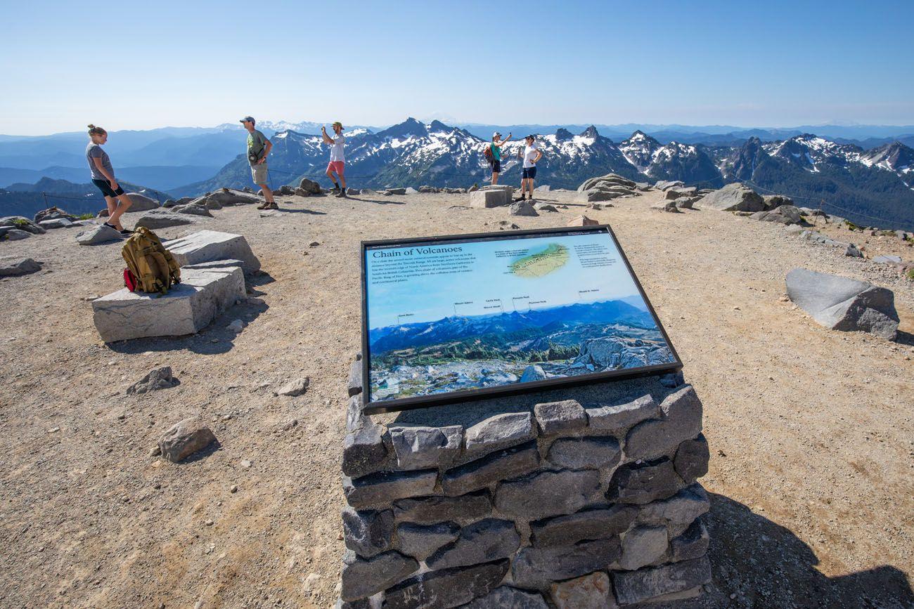 Panorama Point Mt Rainier
