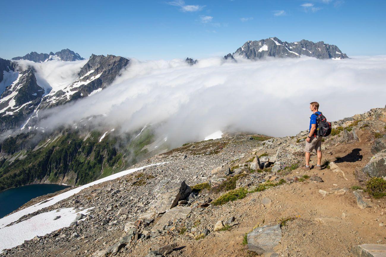 Sahale Arm Hike Clouds