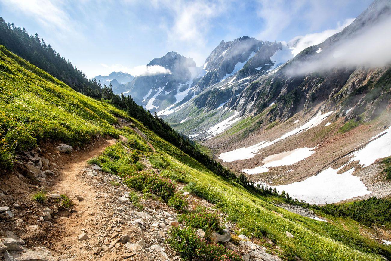 Sahale Arm Hike Trail