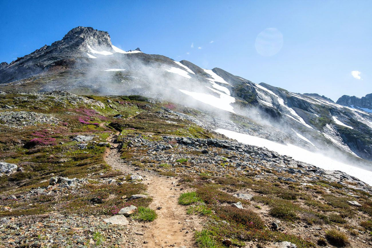 Sahale Arm to Sahale Glacier Camp