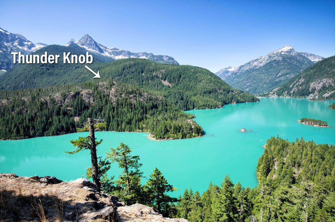 Thunder Knob Hikes in North Cascades