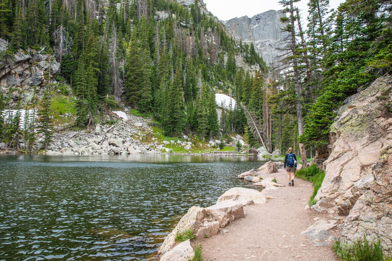 Trail Around Dream Lake