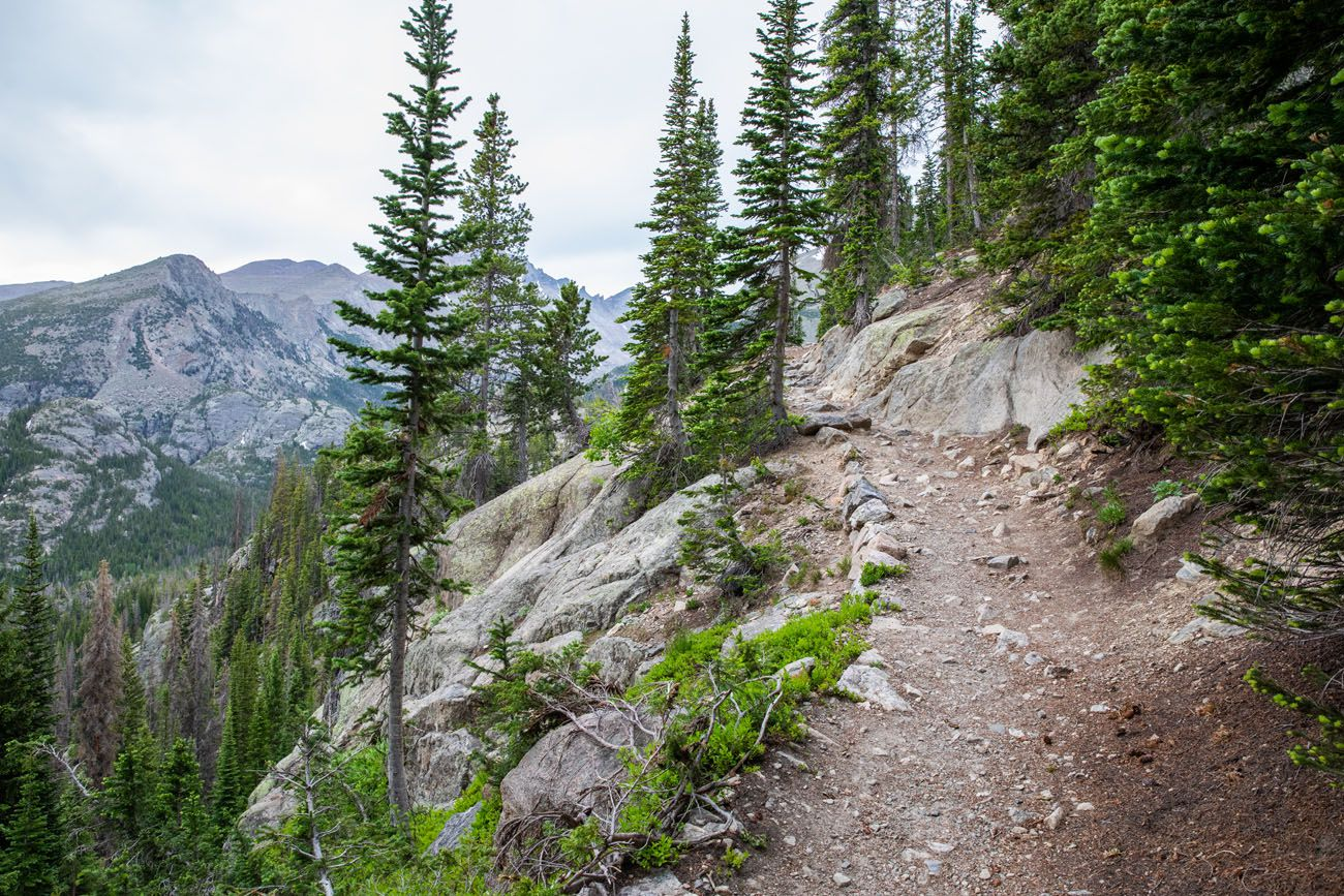 Trail to Lake Haiyaha