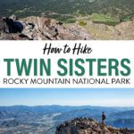 Twin Sisters Hike Rocky Mountain National Park
