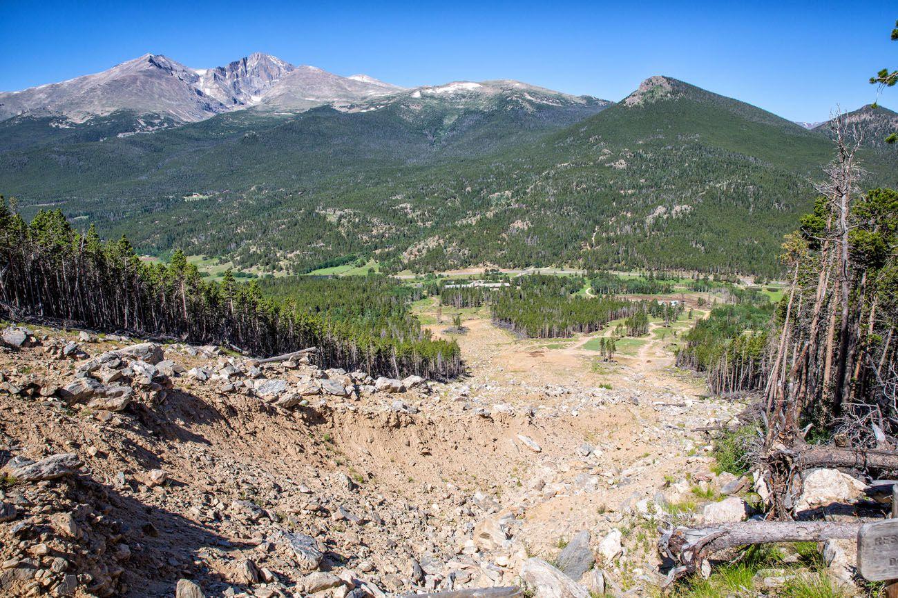 Twin Sisters Rockslide