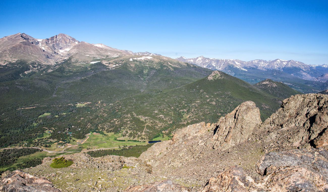 View of RMNP