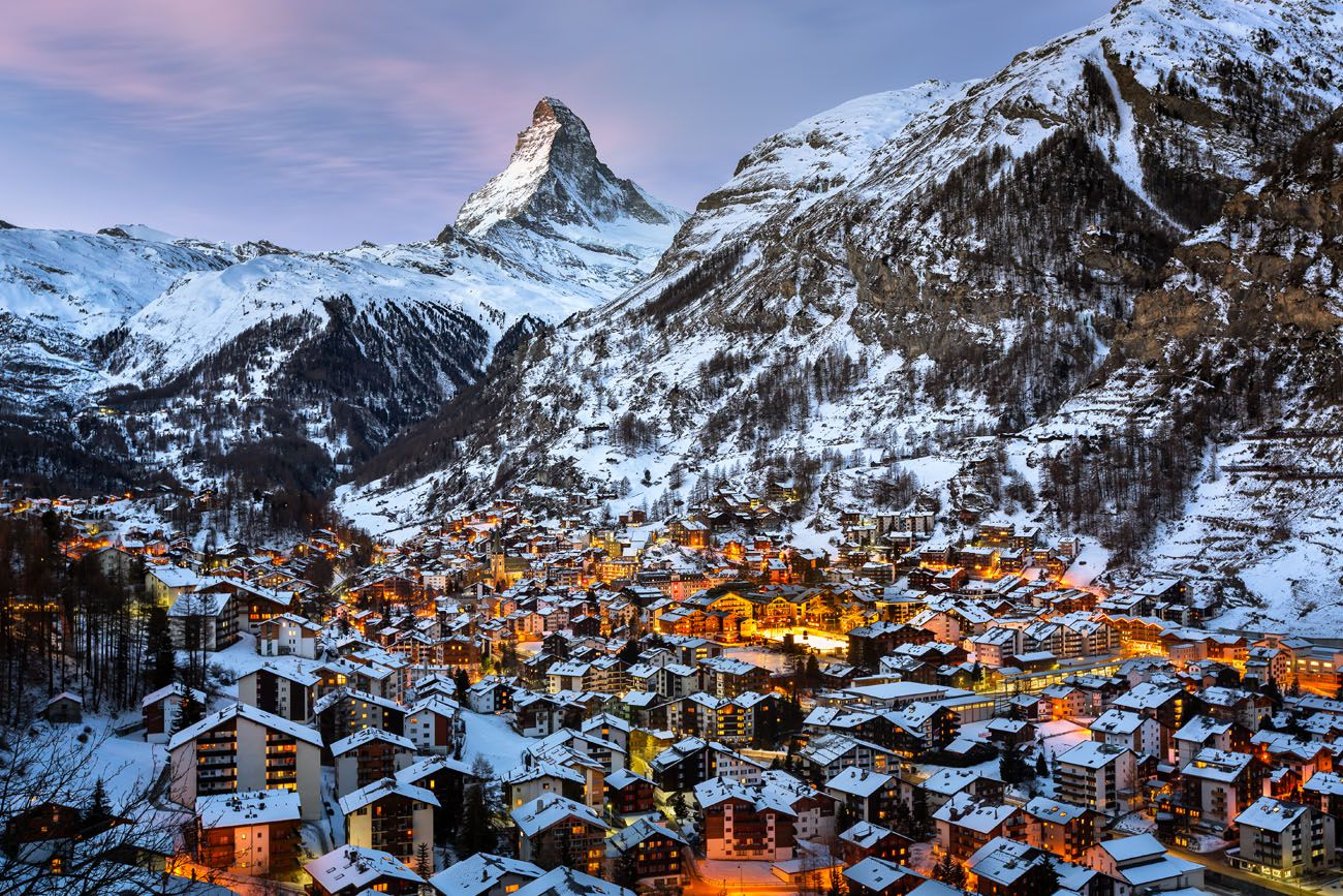 Winter Vacation Zermatt