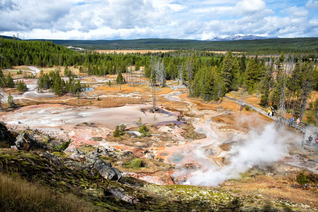 Artist Paintpots Things to do in Yellowstone