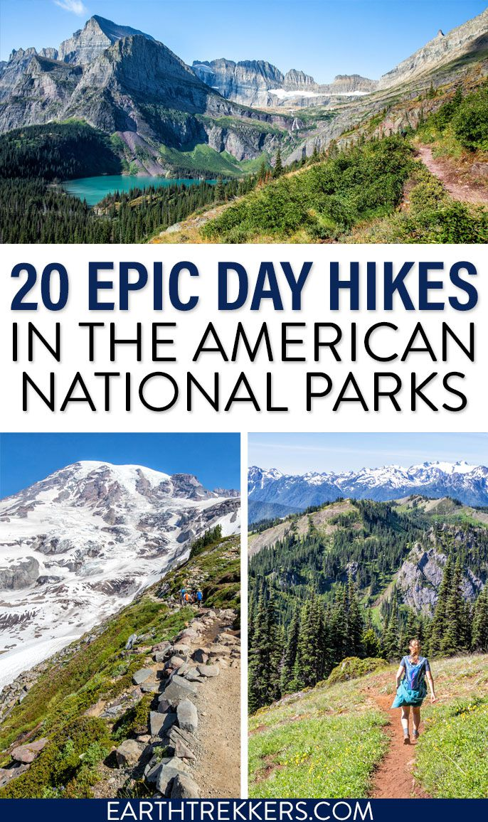 Best Day Hikes US National Parks