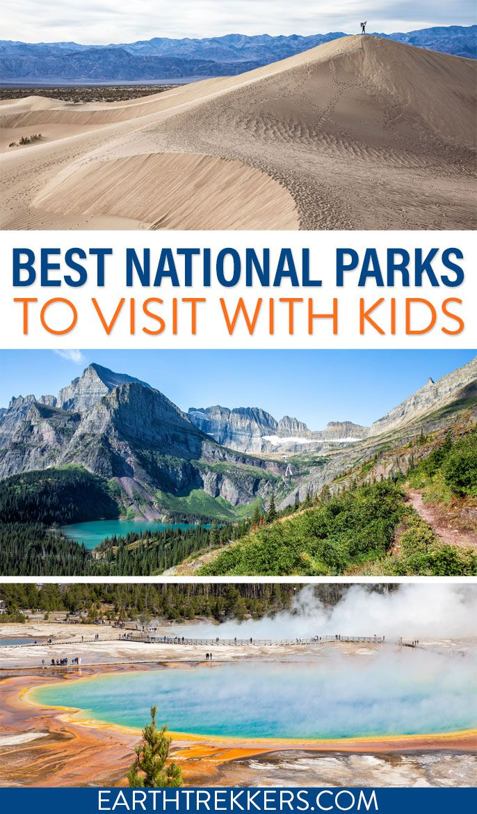 Best National Parks with Kids