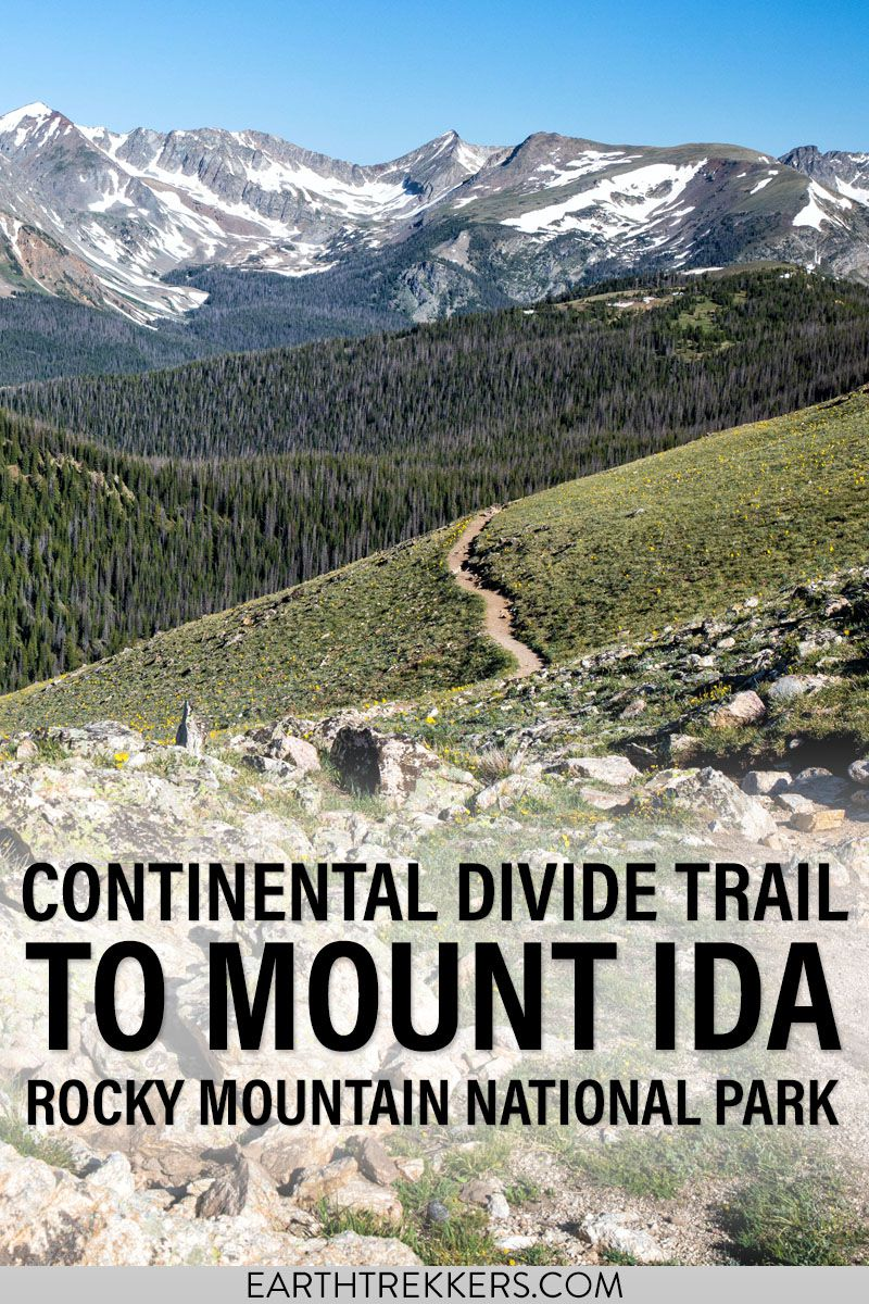 Continental Divide Trail RMNP