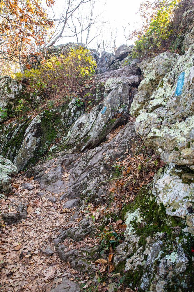 First Rock Scrambling