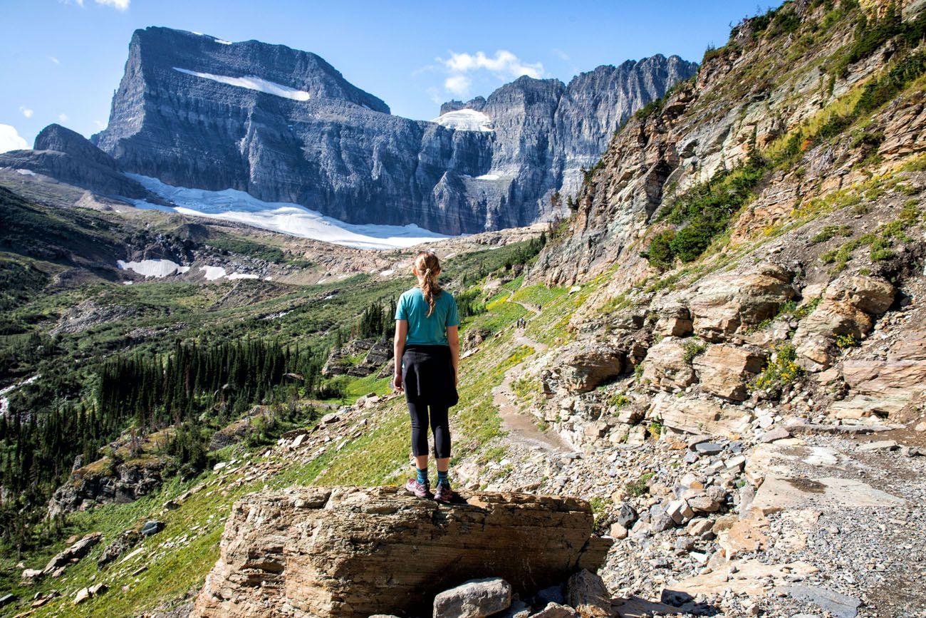 Glacier national parks with kids
