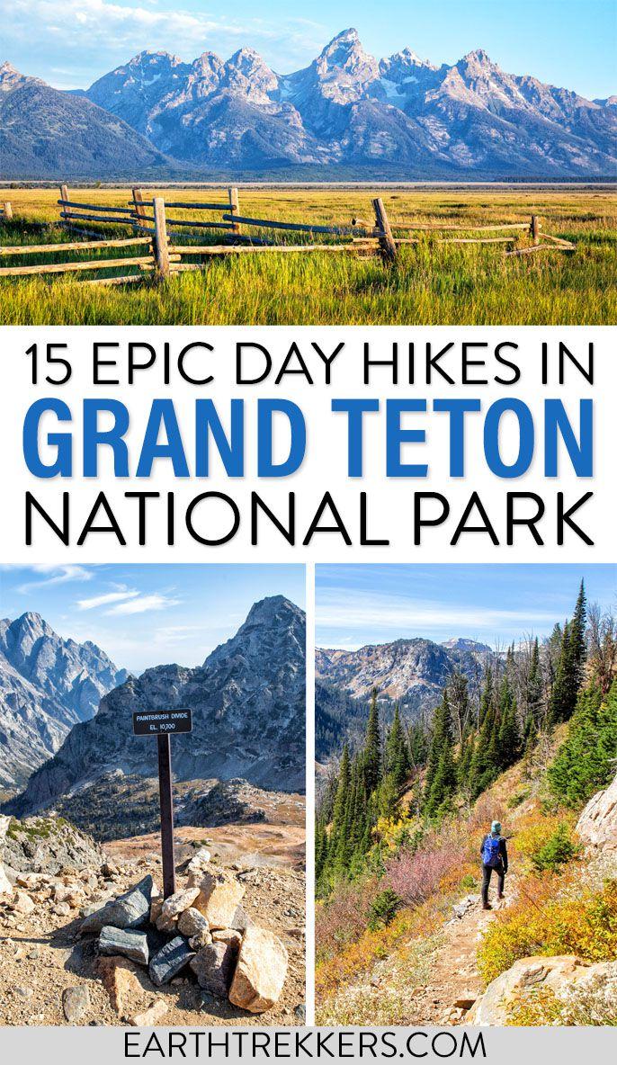 Grand Teton Day Hikes