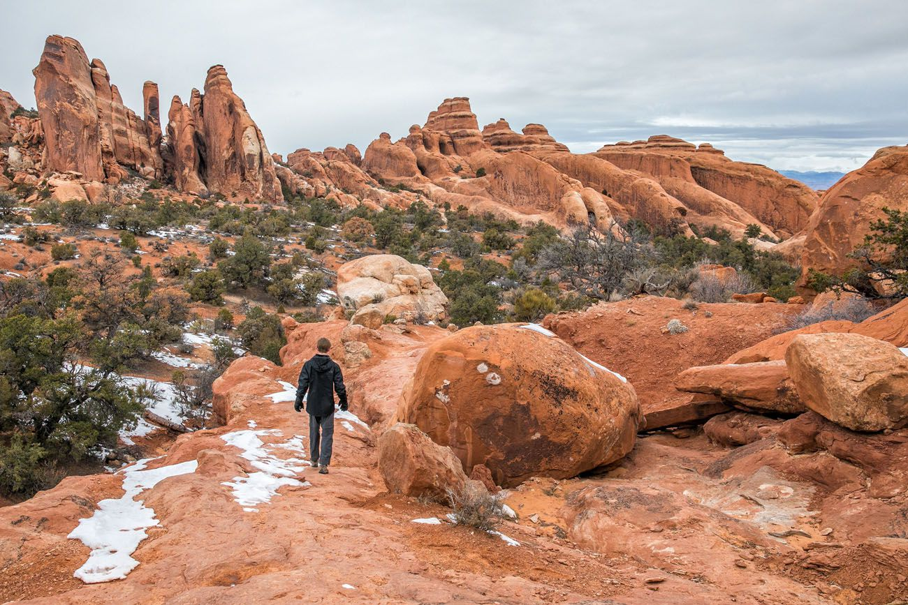 Hike Arches with Kids
