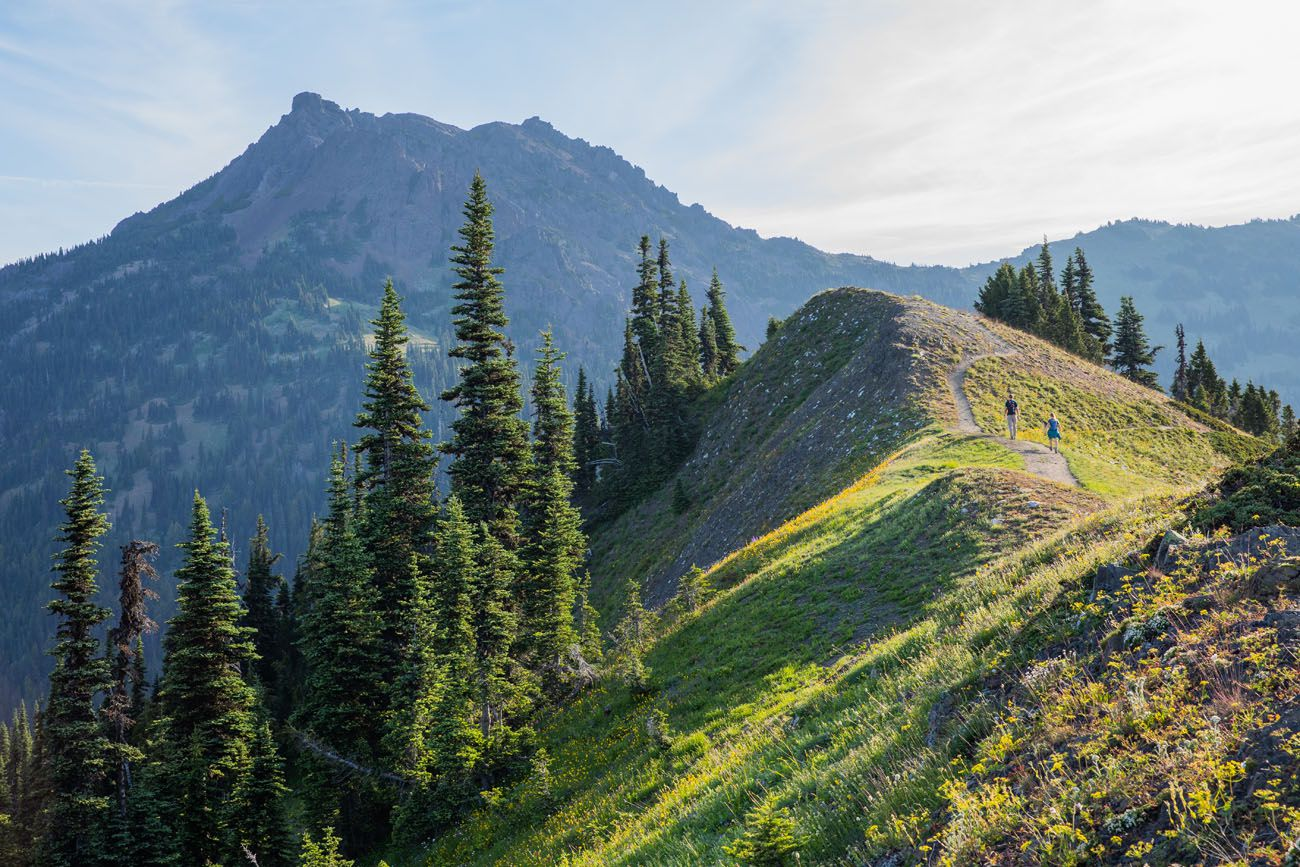 Mount Angeles hikes in the national parks