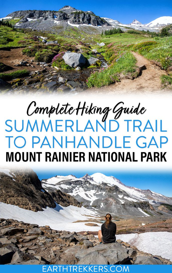 Mount Rainer National Park Hike