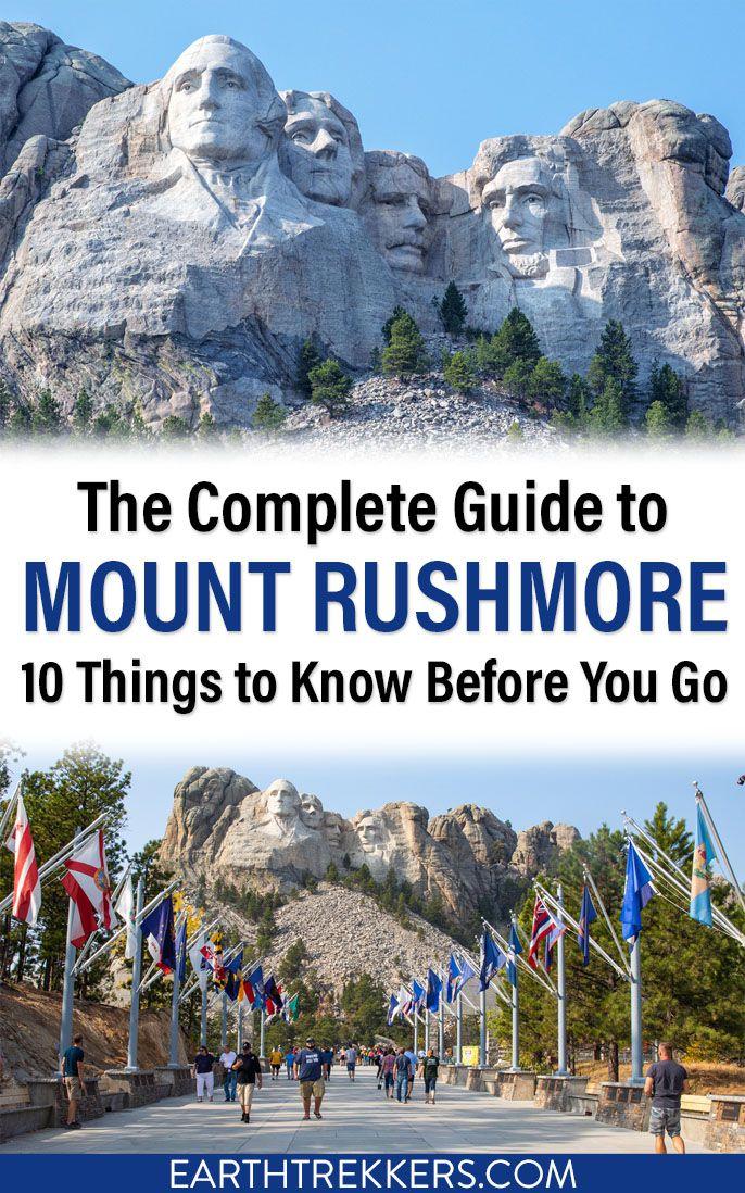 Mount Rushmore South Dakota Travel Guide