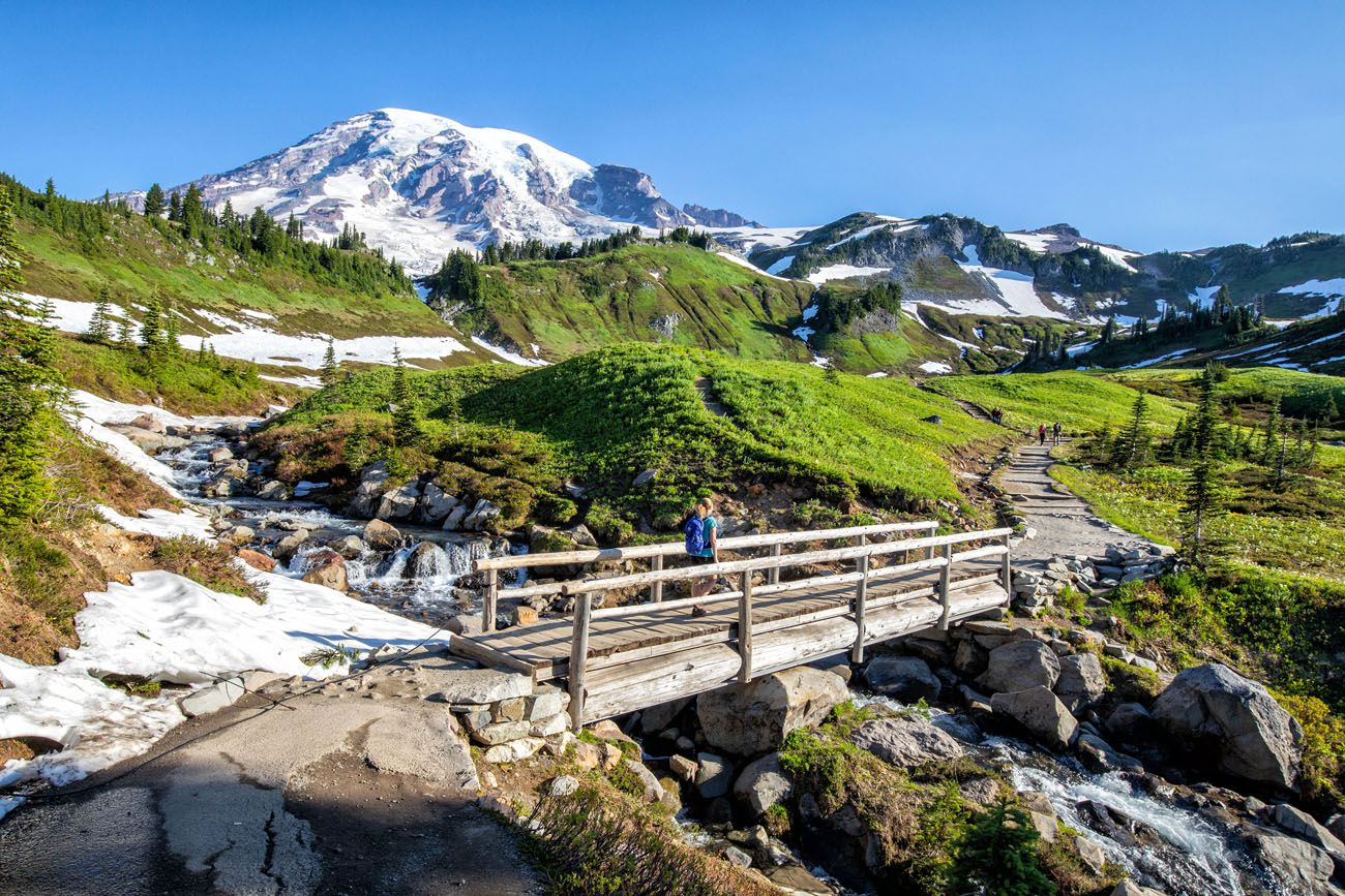 Mt Rainier Hike