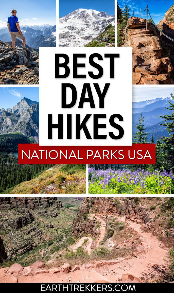 National Parks Best Day Hikes