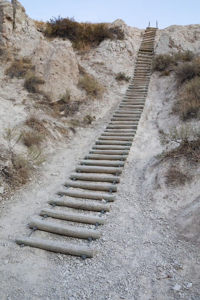 Notch Trail Ladder Badlands