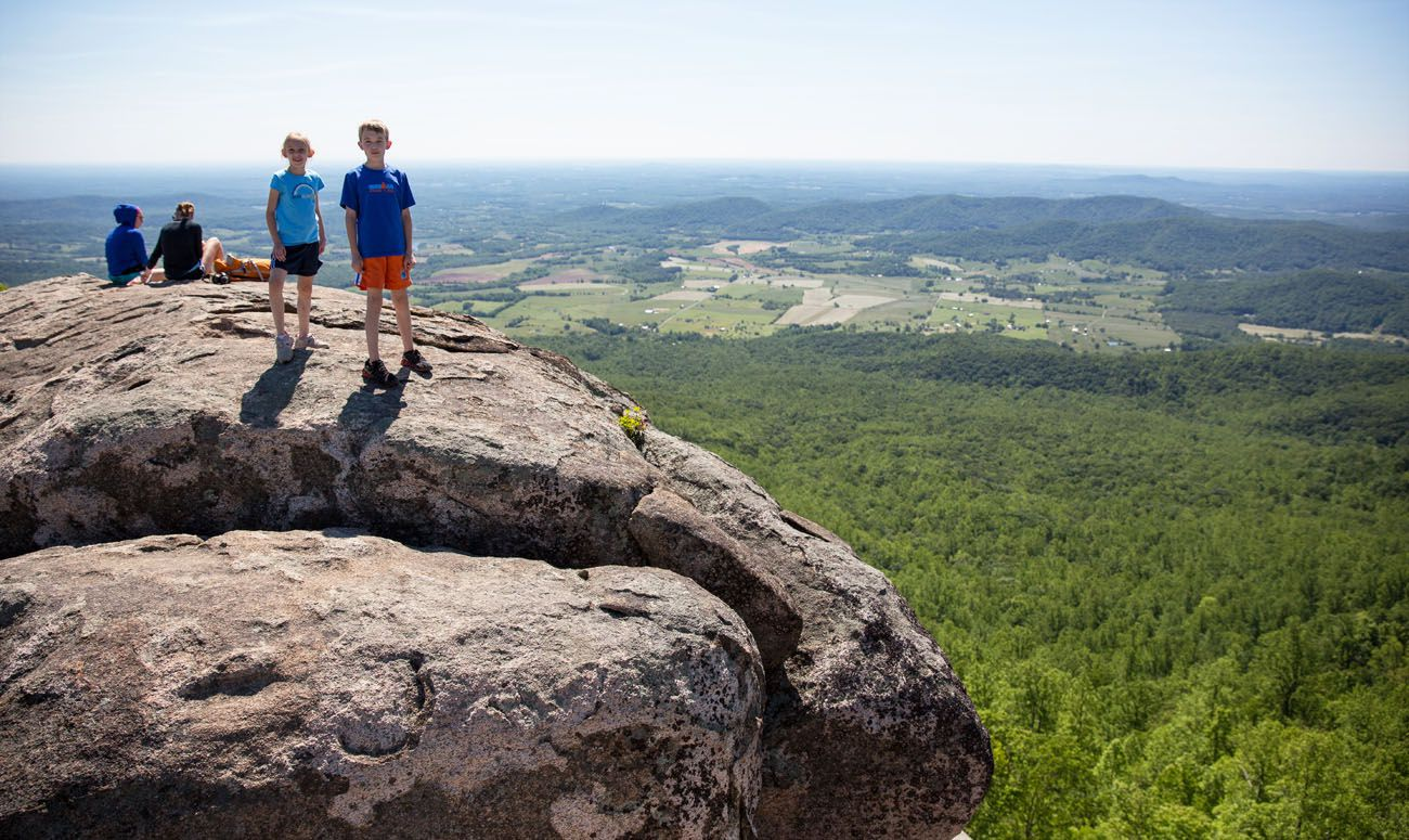 Old Rag with Kids