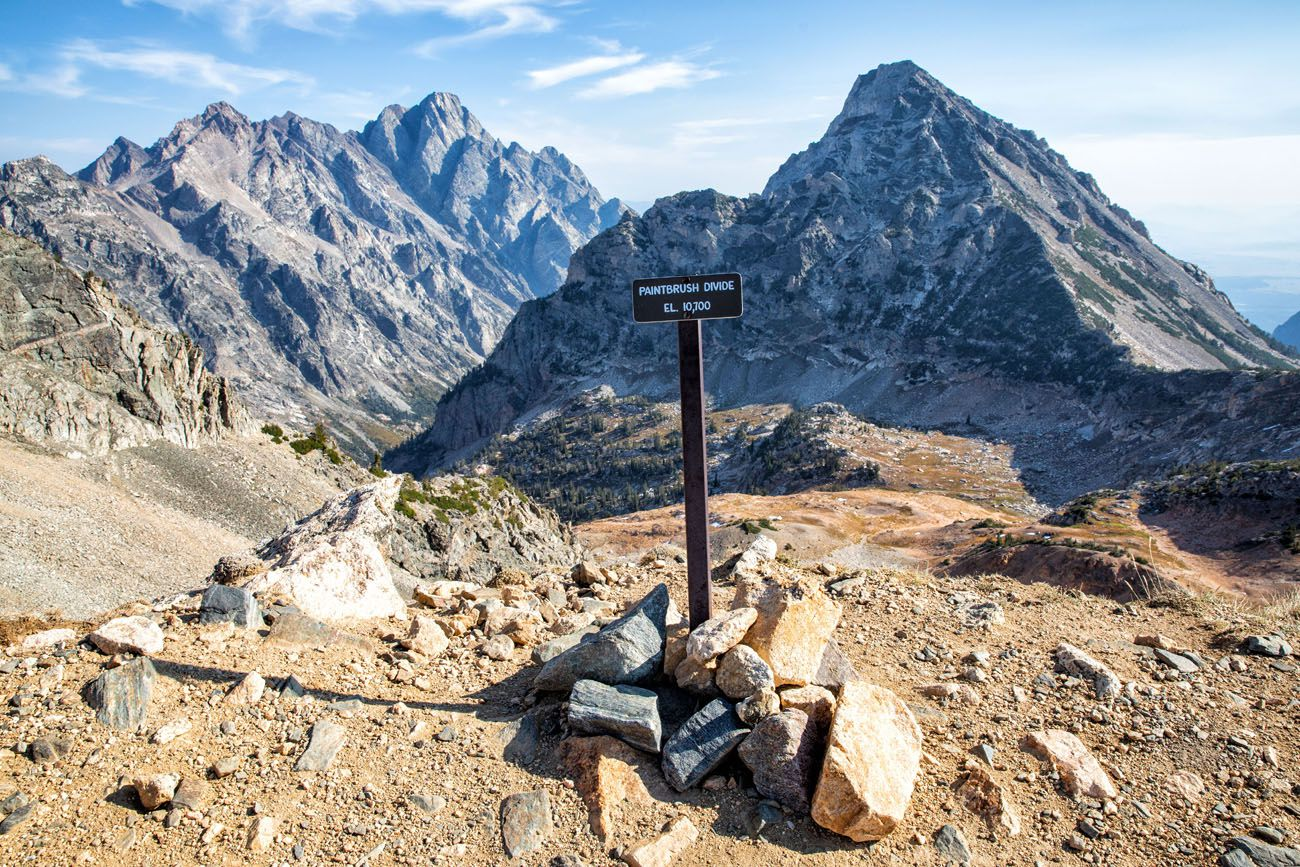 Paintbrush Divide hikes in the national parks