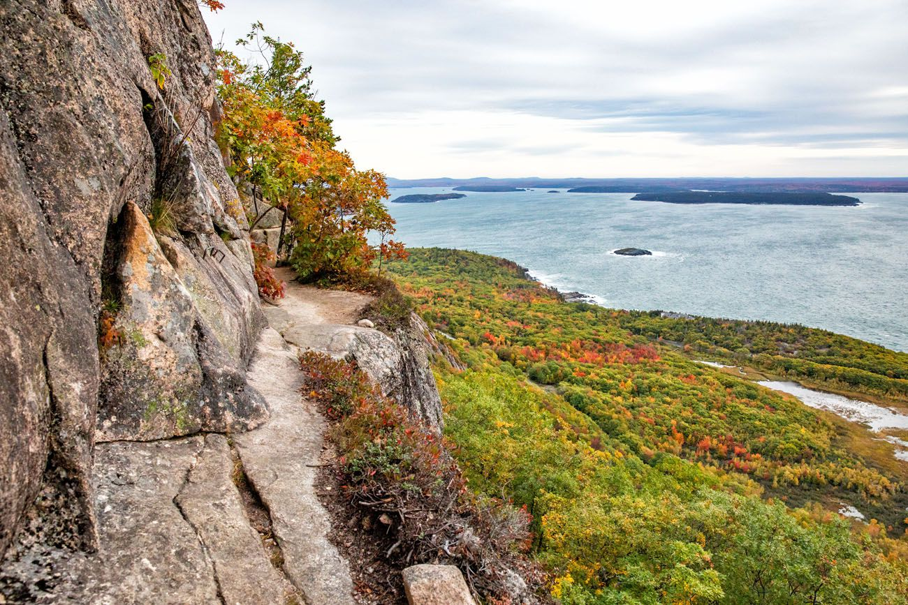 Precipice Trail hikes in the national parks