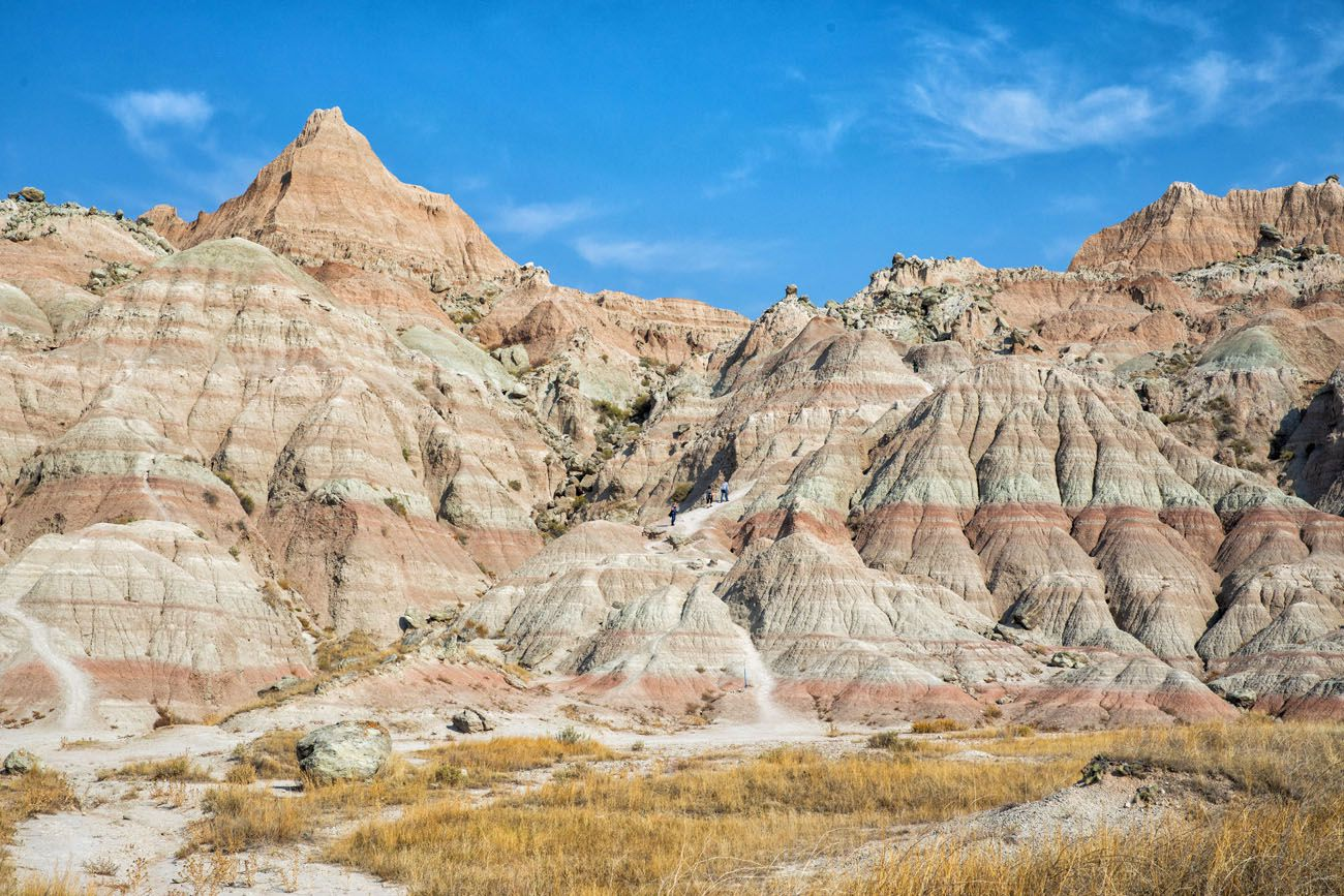 Saddle Pass Badlands