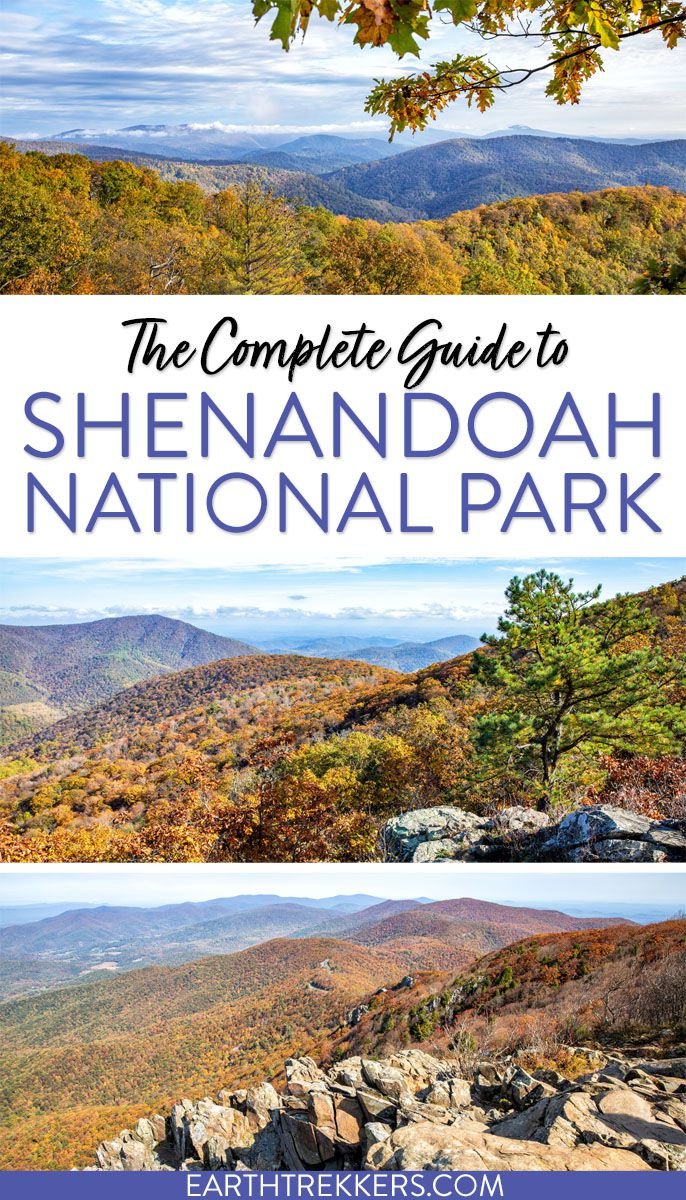 Shenandoah National Park Guide