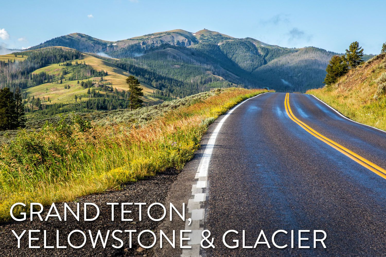 Grand Teton Yellowstone Glacier
