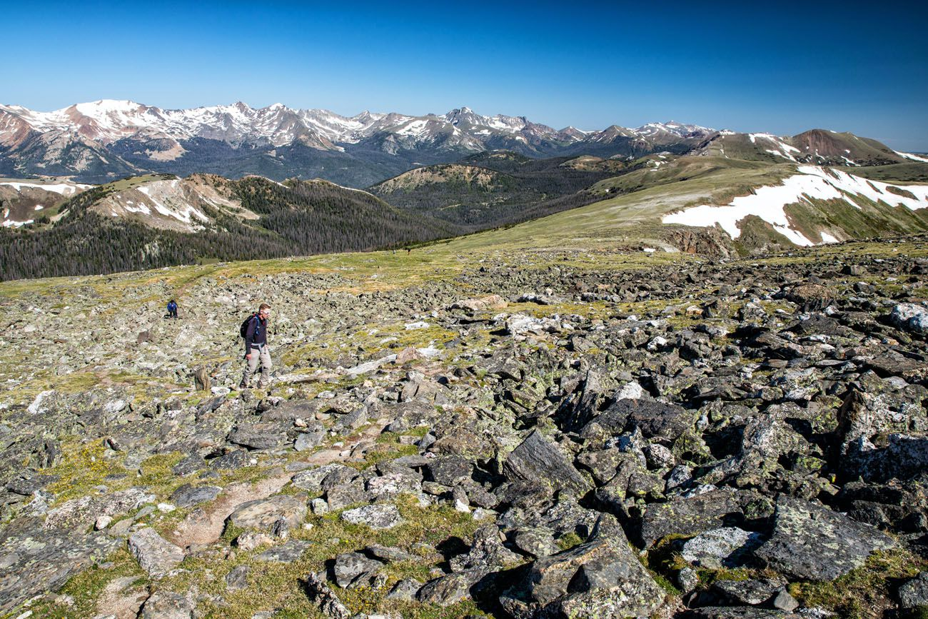 Tim in Boulder Field